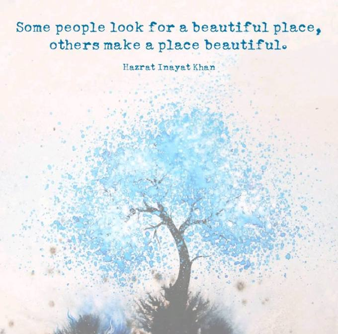 beautiful place quote
