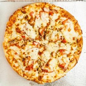beige pizza