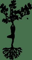 yoga silouette